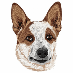 acd029  Australian Cattle Dog (small or large design)