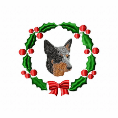 acd1wreath American Cattle Dog (small or large design)