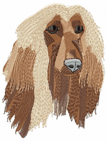afghan002 Afghan Hound (small or large design)