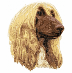 afghan003 Afghan Hound (small or large design)