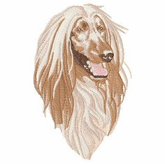 afghan005 Afghan Hound (small or large design)