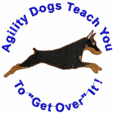 agility013 Agility Dog (small or large design)