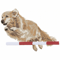 agility111 Agility Dog (small or large design)
