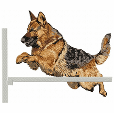 agility116 Agility Dog (small or large design)