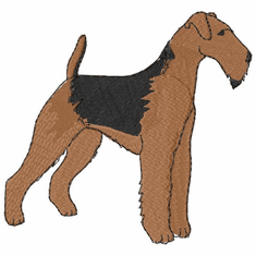 airedale001 Airedale (small or large design)
