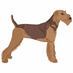 airedale002 Airedale (small or large design)