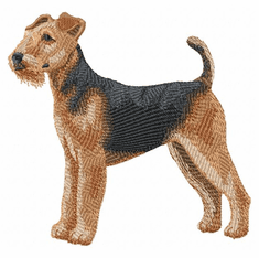 airedale004 Airedale (small or large design)