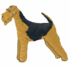 airedale005 Airedale (small or large design)