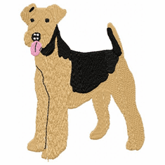 airedale009 Airedale (small or large design)