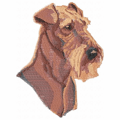 airedale022 Airedale (small or large design)