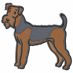 airedale024 Airedale (small or large design)
