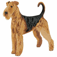 airedale025 Airedale (small or large design)