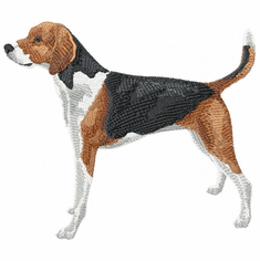 amerfox001 American Foxhound (small or large design)