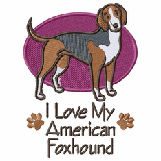 amerfox007 American Foxhound (small or large design)