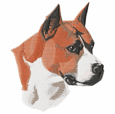 amstaf002 American Staffordshire Terrier (small or large design)