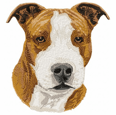 amstaf004 American Staffordshire Terrier (small or large design)