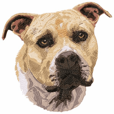 amstaf020 American Staffordshire Terrier (small or large design)