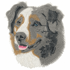 aussie008 Australian Shepherd (small or large design)