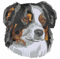 aussie014 Australian Shepherd (small or large design)