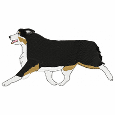 aussie020 Australian Shepherd (small or large design)