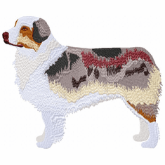 aussie041 Australian Shepherd (small or large design)