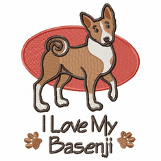 basenji002 Basenji (small or large design)