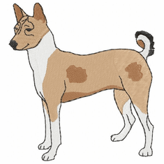 basenji007 Basenji (small or large design)