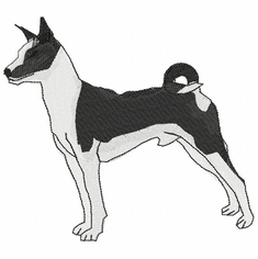 basenji011 Basenji (small or large design)