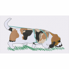 basset033 Basset Hound (small or large design)