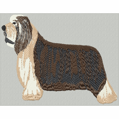 bearded003 Bearded Collie (small or large design)