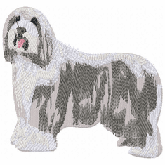 bearded004 Bearded Collie (small or large design)