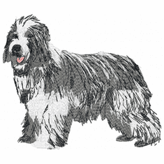 bearded007 Bearded Collie (small or large design)