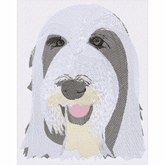 bearded011 Bearded Collie (small or large design)