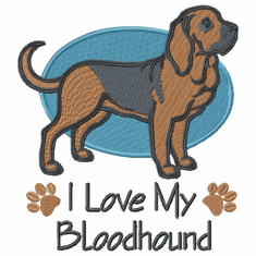 blood016 Bloodhound (small or large design)