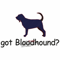 bloodhound014  Bloodhound(small or large design)