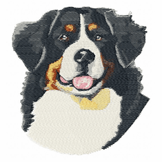 bmd004 Bernese Mountain Dog (small or large design)