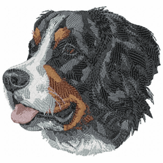 bmd027 Bernese Mountain Dog (small or large design)
