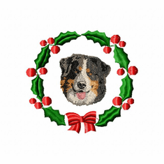 bmd4wreath Bernese Mountain Dog (small or large design)