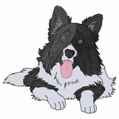 bordercollie108 Border Collie (small or large design)