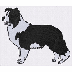 bordercollie109 Border Collie (small or large design)