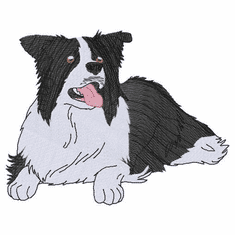 bordercollie110 Border Collie (small or large design)
