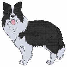 bordercollie115 Border Collie (small or large design)