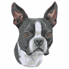 boston009 Boston Terrier (small or large design)
