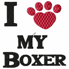boxer041 Boxer (small or large design)