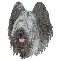 briard006 Briard   (small or large design)