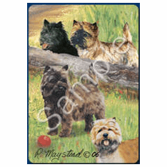 Cairn Terrier Playing Cards