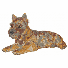 cairn009 Cairn Terrier (small or large design)