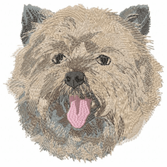 cairn016 Cairn Terrier (small or large design)