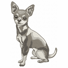 chihuahua024 Chihuahua (small or large design)