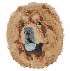 chow024 Chow Chow(small or large design)